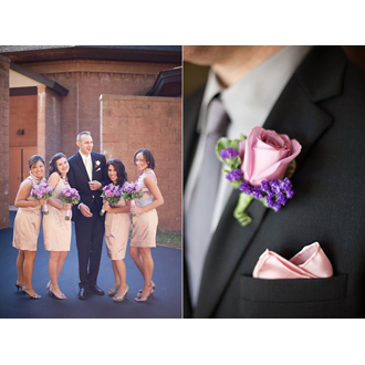 Wedding Party Floral - Boutonniere