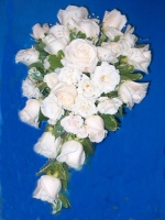 White Rose Bridal Cascade