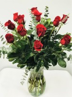 1 DZ. Roses - Florist Designed