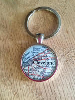 Vintage Cleveland Key Chain