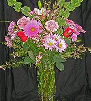 Paradise Fresh Flower Funeral Arrangement
