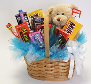 Candy Bear Basket