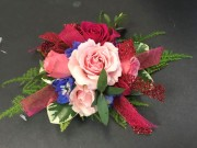 Vibrant Color Mix Corsage