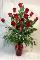 Aletha's Deluxe Rose Vase