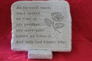 Medium Memorial Stone B10