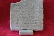Medium Memorial Stone B12