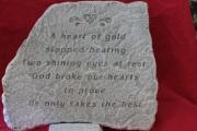 Medium Memorial Stone B19