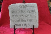 Medium Memorial Stone B1
