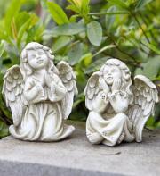 Angel Girl Figure Resin