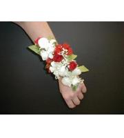Dendrobium Orchid and Spray Rose Corsage Premium