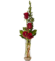 Rose-Berry Bud Vase