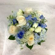 Blue Hue Bouquet