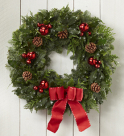 Homecoming Wreath