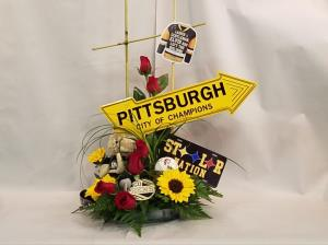 Pittsburgh Power Bouquet