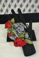 The Red Rose Wrist Corsage