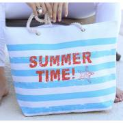Blue Summer Time Tote