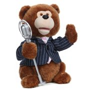 Mr. Benny Animated Singing Stuffed Plush Toy