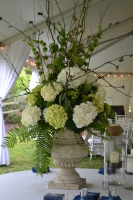 Backdoor Wedding Centerpiece