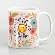 Pretty Sweary For F's Sake Mug