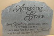 Amazing Grace stepping stone