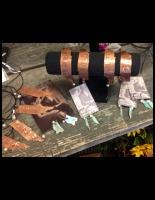 Copper Zip Code Jewlery