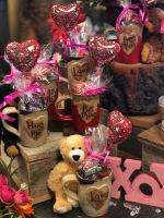 valentine pottery mug