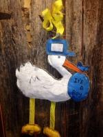 stork door hanger