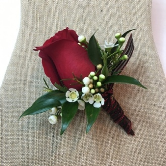 Everlasting Beauty Boutonniere
