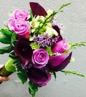 Purple Calla Lily Handheld