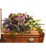 Reflections of Gratitude Casket Spray