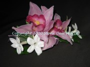 Cymbidium and Stephanotis Corsage