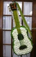 Guitar Funeral Easel