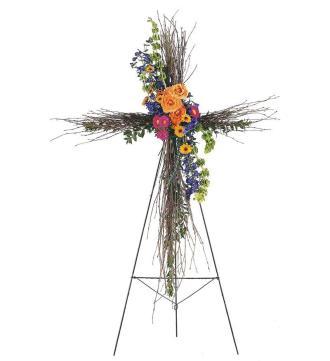 Birch Compassion Cross