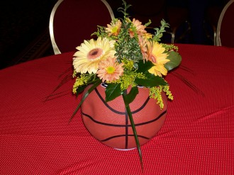 Basket Ball Arrangement