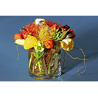 Last Straw Florist Colorful Paradise Bouquet