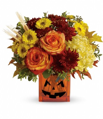 The Halloween Glow Bouquet