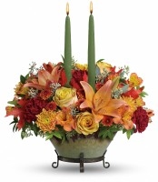 The Golden Fall Centerpiece