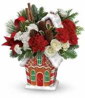 The Gingerbread House Cookie Jar