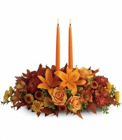 Warm Family Gathering Centerpiece
