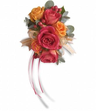 Spray Rose Corsage