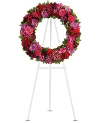 The Congratulations Wreath