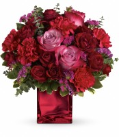 The Ruby Rapture Bouquet