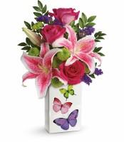 The Brilliant Butterflies Bouquet