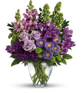 The Lavender Charm Bouquet