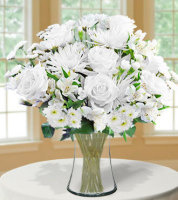 Classic All White Bouquet - Greatest
