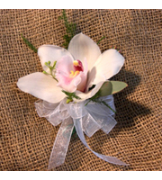 Cymbidium Orchid Corsage, corsages & boutonnieres