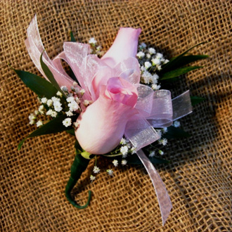 Rose Corsage, corsages & boutonnieres