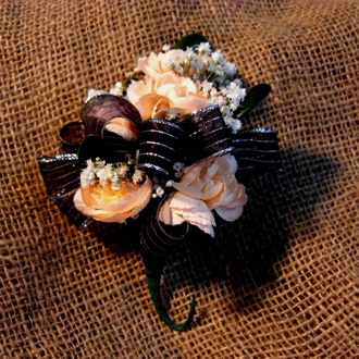 Mini Carnation Corsage, corsages & boutonnieres