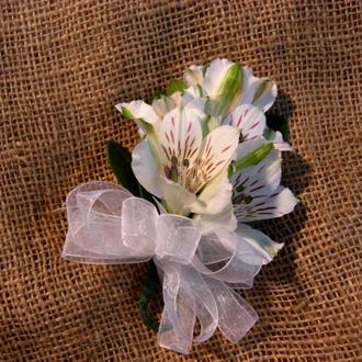 Alstroemeria Corsage, corsages & boutonnieres