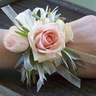 Blush Rose Corsage